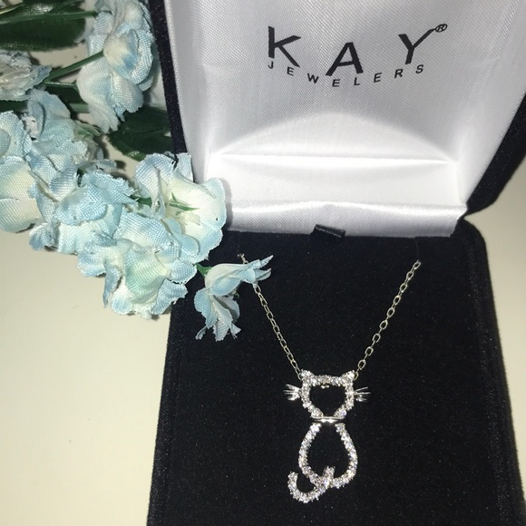 136339d1c Kay Jewelers Jewelry - Adorable Kay Jewelers cat necklace😻
